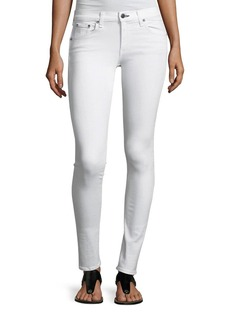 rag & bone/JEAN Mid-Rise Skinny-Leg Denim Jeans