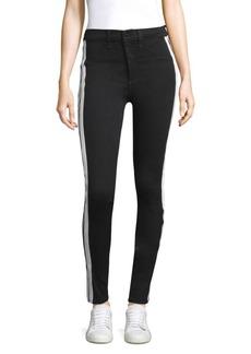 Mito Tuxedo Stripe Stretch Pants