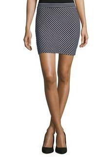 rag & bone/JEAN Mod Striped Mini Skirt