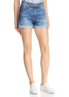 rag & bone Nina High-Rise Denim Shorts