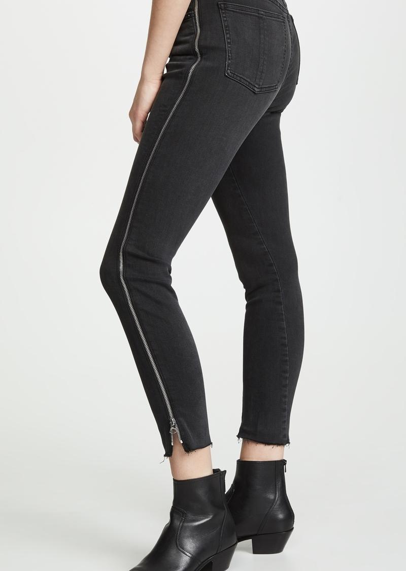 Rag & Bone/JEAN Nina High Rise Skinny Jeans