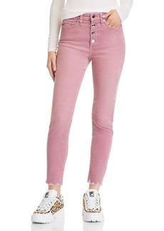 rag & bone Nina Skinny Corduroy Jeans in Mauve
