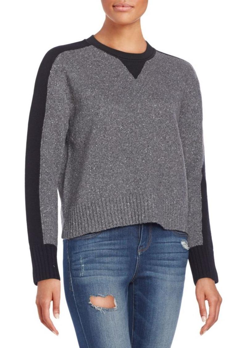 rag & bone/JEAN Nina Two-Tone Wool-Blend Sweater