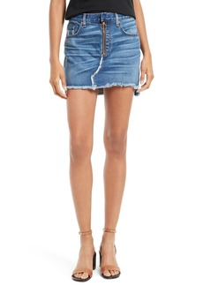rag & bone/JEAN O-Ring Denim Miniskirt (Otto)