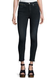 rag & bone/JEAN O-Ring Dive Capri Jeans
