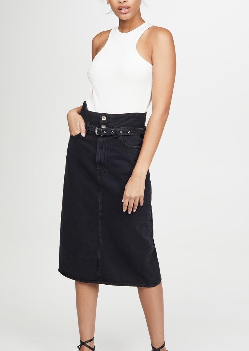 Rag & Bone/JEAN Paper Bag Skirt