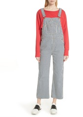 rag & bone/JEAN Patched Dungarees