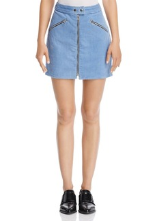 rag & bone/JEAN Racer Corduroy Mini Skirt