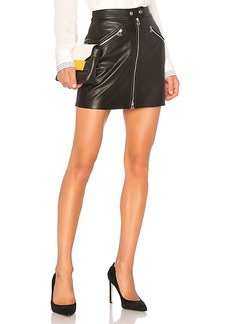rag & bone/JEAN Racer Skirt in Black. - size 26 (also in 24,25,27,29)