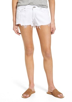 rag & bone/JEAN Ripped Cutoff Denim Shorts