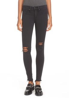 rag & bone/JEAN Ripped Denim Leggings