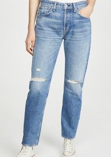 Rag & Bone/JEAN Rosa Mid-Rise Boyfriend Jeans