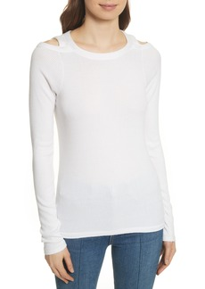 rag & bone/JEAN Rosalind Cutout Ribbed Top