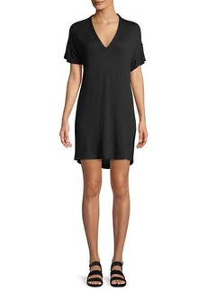 Rag & Bone Rosalind V-Neck Short-Sleeve Dress