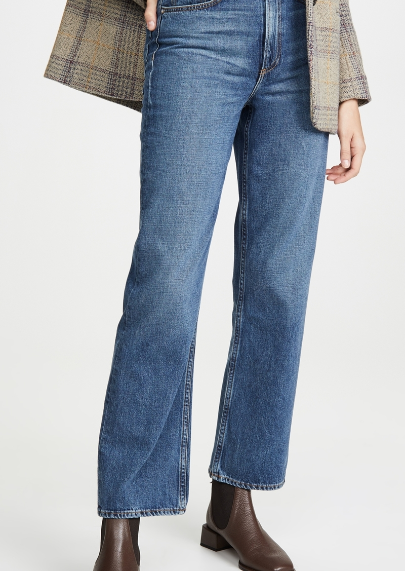 Rag & Bone/JEAN Ruth Super High-Rise Straight Jeans