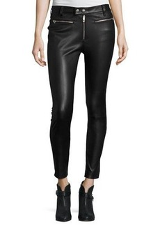 rag & bone/JEAN Ryder Leather Skinny Jeans