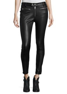 rag & bone/JEAN Ryder Leather Skinny Jeans