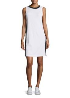 rag & bone/JEAN Sam Stripe-Trim Jersey Shift Dress