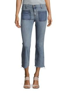 rag & bone/JEAN Santa Cruz Flare Cropped Jeans