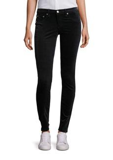 rag & bone/JEAN Scarab Velvet Skinny Jeans