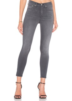 rag & bone/JEAN Side Slit Crop Skinny