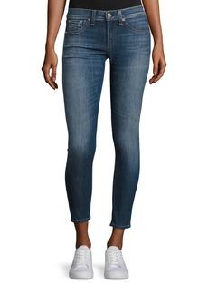 Rag & Bone Skinny Capri Denim Jeans  Rae