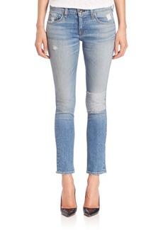 rag & bone/JEAN Skinny Cropped Tomboy Boyfriend Jeans