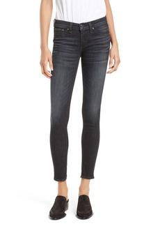 rag & bone/JEAN Skinny Jeans (Black Rae)