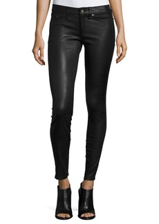 rag & bone/JEAN Skinny Leather Ankle Pants