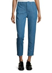 rag & bone/JEAN Slim-Leg Cropped Chino Pants
