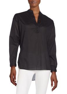 rag & bone/JEAN Solid Long Sleeves Top