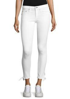 rag & bone/JEAN Stevie Tie-Cuff Capri Skinny Jeans