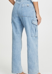 Rag & Bone/JEAN Super High-Rise Cargo Jeans