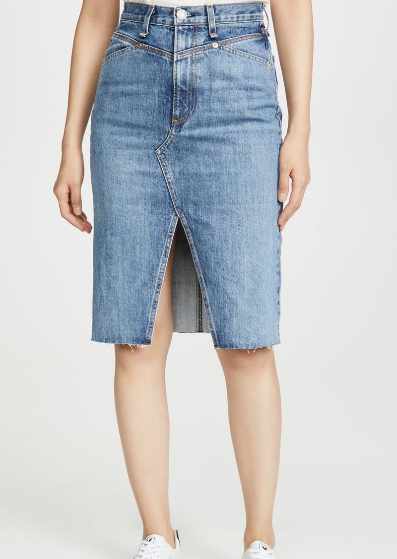 Rag & Bone/JEAN Super High-Rise Pencil Skirt