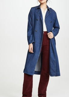 Rag & Bone/JEAN Tailored Denim Trench Coat