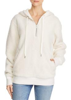 rag & bone/JEAN Teddy Fleece Hooded Sweatshirt