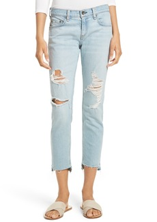 rag & bone/JEAN The Dre Capri Slim Boyfriend Jeans (Marina)