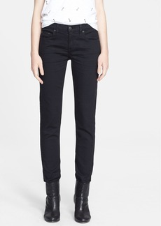 rag & bone/JEAN 'The Dre' Skinny Jeans (Aged Black)