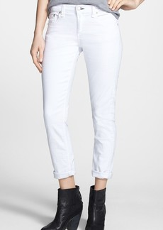 rag & bone 'The Dre' Skinny Jeans (Aged Bright White)
