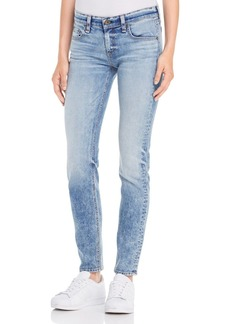 rag & bone/JEAN The Dre Slim Boyfriend Jeans in Acid Blue