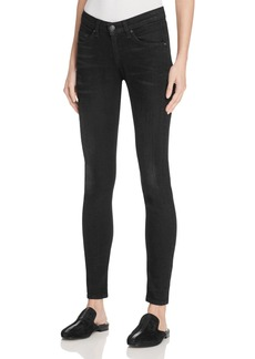 rag & bone/JEAN The Dre Slim Boyfriend Jeans in Worn Black