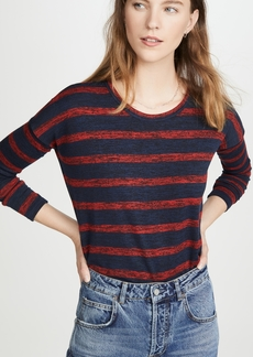 Rag & Bone/JEAN The Knit Striped Long Sleeve