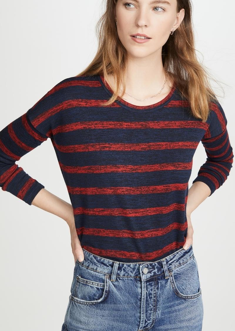 Rag & Bone/JEAN The Knit Striped Long Sleeve