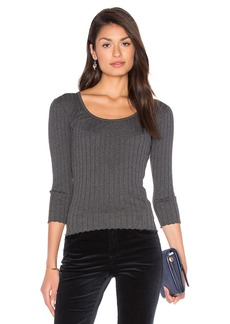 rag & bone/JEAN The Rib Long Sleeve Top