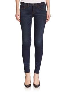 Rag & Bone Heritage Mid-Rise Skinny Vintage Jeans