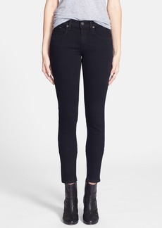 rag & bone 'The Skinny' Stretch Jeans (Coal)