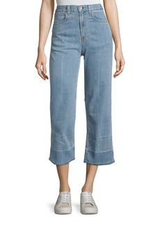 rag & bone/JEAN Tivoli Lou High-Rise Crop Denim Jeans
