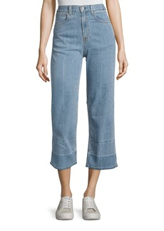 rag & bone/JEAN Tivoli Lou High-Rise Crop Denim Jeans