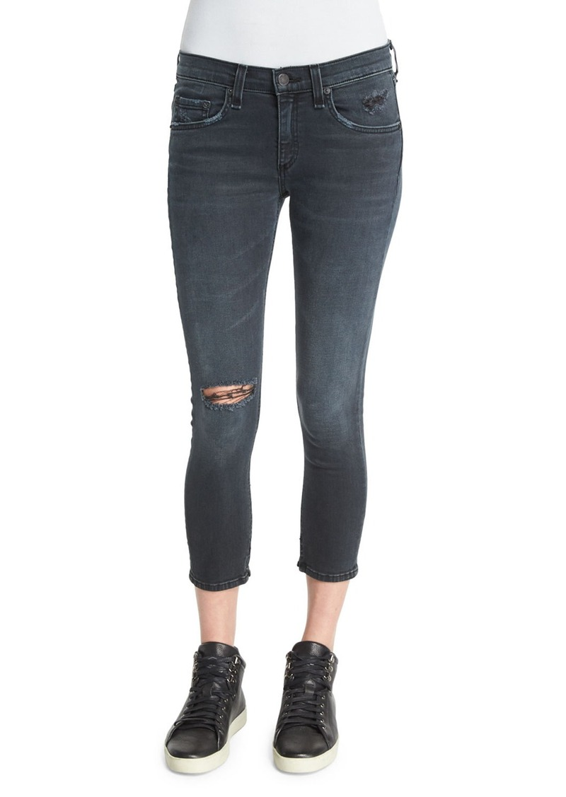 rag & bone/JEAN Ultra Distressed Capri Jeans