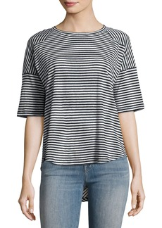 rag & bone/JEAN Valley Striped Relaxed Tee